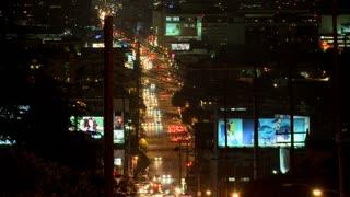 LA City Road Lapse