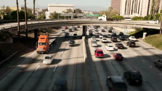 LA Downtown Freeway Traffic