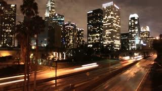 LA Downtown Street Timelapse