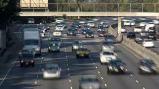 LA Driving Traffic