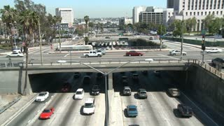 LA Freeway Overpass Time Lapse