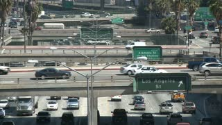 LA Freeway Overpass Timelapse