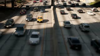LA Freeway Tilt Shift TL