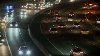 LA Highway Bend