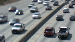 LA Highway Tilt Shift