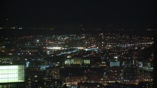 LA Night City Timelapse