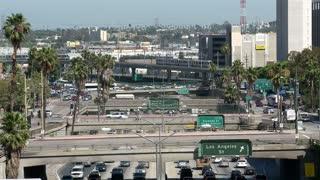 LA Overpass Landscape Timelapse