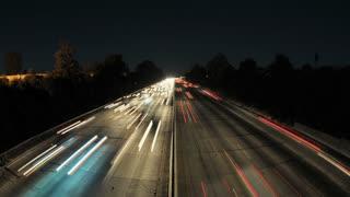 LA Overpass Roadway Timelapse 2