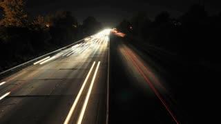 LA Overpass Roadway Timelapse 3
