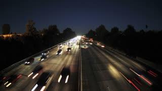LA Overpass Roadway Timelapse