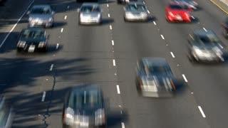 LA Overpass Traffic