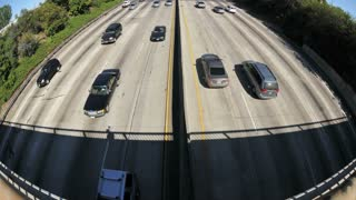 LA Overpass Ultra Wide Timelapse