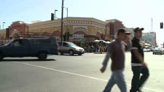 LA Pedestrian Traffic Timelapse