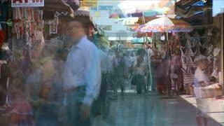 La Santee Alley Time Lapse Fast