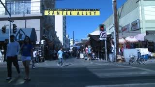 LA Santee Alley Timelapse