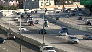 LA Traffic On 405