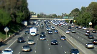 LA Traffic Tilt Shift