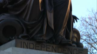 Lady Virginia Independence Statue