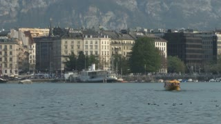 Lake Geneva and City