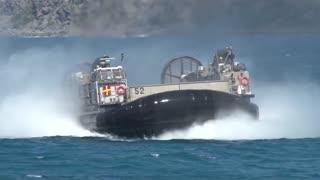 Landing Craft Air Cushion (LCAC) hovercraft Amphibious assault, RIMPAC 2014