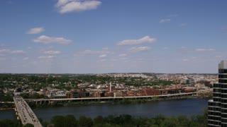 Landscape Potomac River DC View
