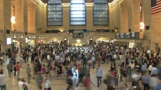Large Crowd at Grand Central Station 5