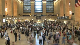 Large Crowd at Grand Central Station 9