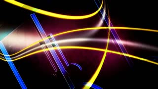 large multi colored music notes motion background videoblocks