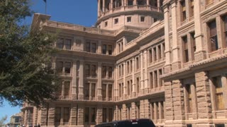 Large Texas Capitol Building