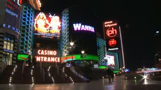Las Vegas Casino Walking Timelapse