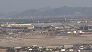 Las Vegas Runway At Airport