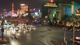 Las Vegas Street Hotel Timelapse