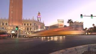 Las Vegas Street Time Lapse