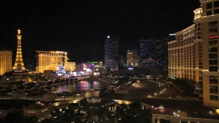 Las Vegas Strip Time Lapse Night 2