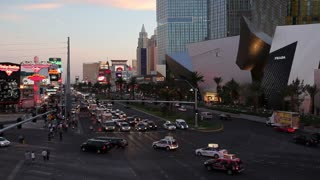 Las Vegas, The Strip at night, Nevada, United States of America