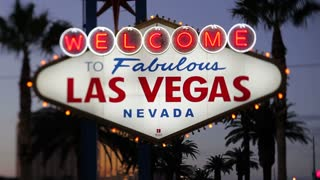 Las Vegas, Welcome to Las Vegas sign, Nevada, United States of America