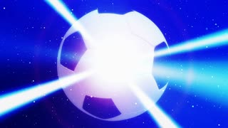 Laser Beam Soccer Ball