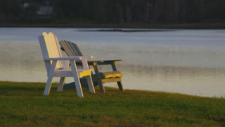 Lawn Chairs By Lake