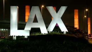 LAX Sign