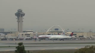 LAX Traffic Control Tower