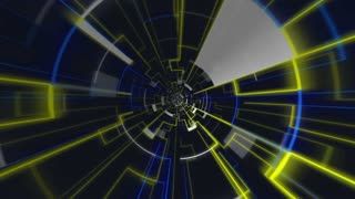 Led Abstract Energy Vj Loop Background 10
