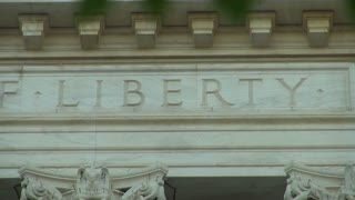 Liberty Written on Supreme Court Building