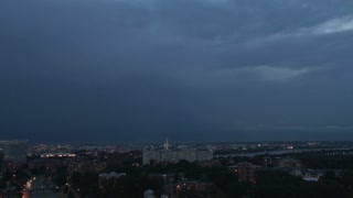 Lightning strikes over DC Skyline 2