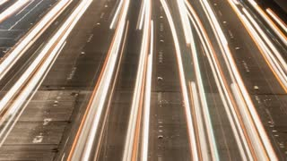 Lights From Cars Timelapse