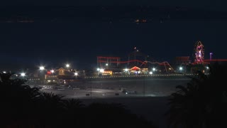 Lights On Santa Monica Pier
