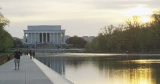 Lincoln Memorial and Reflecting Pool
