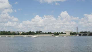 Lincoln Memorial From Across River