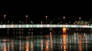 Linz Bridge Lights
