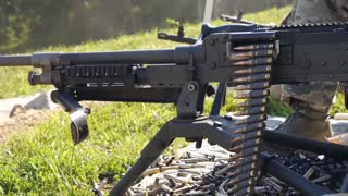 Live Fire Training on M240 and M249 Machine Guns
