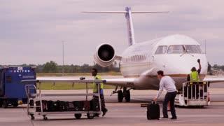 Loading Passenger Luggage